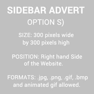 Leaderboard Advert Size